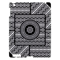 Wavy Panels Apple Ipad 3/4 Hardshell Case by linceazul