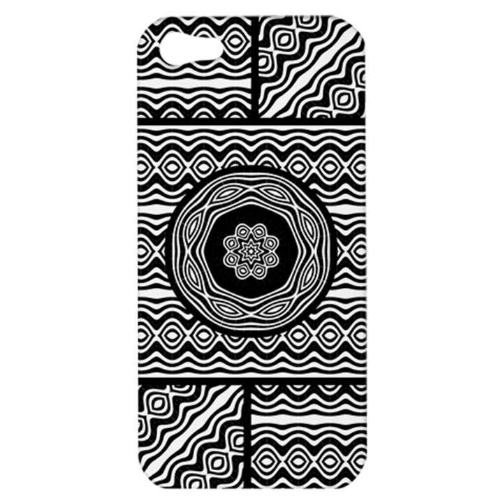Wavy Panels Apple iPhone 5 Hardshell Case