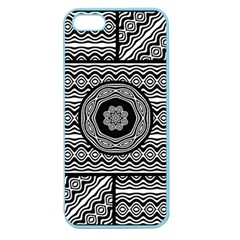 Wavy Panels Apple Seamless Iphone 5 Case (color) by linceazul