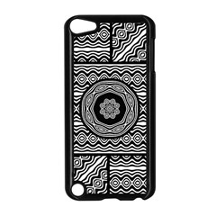 Wavy Panels Apple Ipod Touch 5 Case (black)