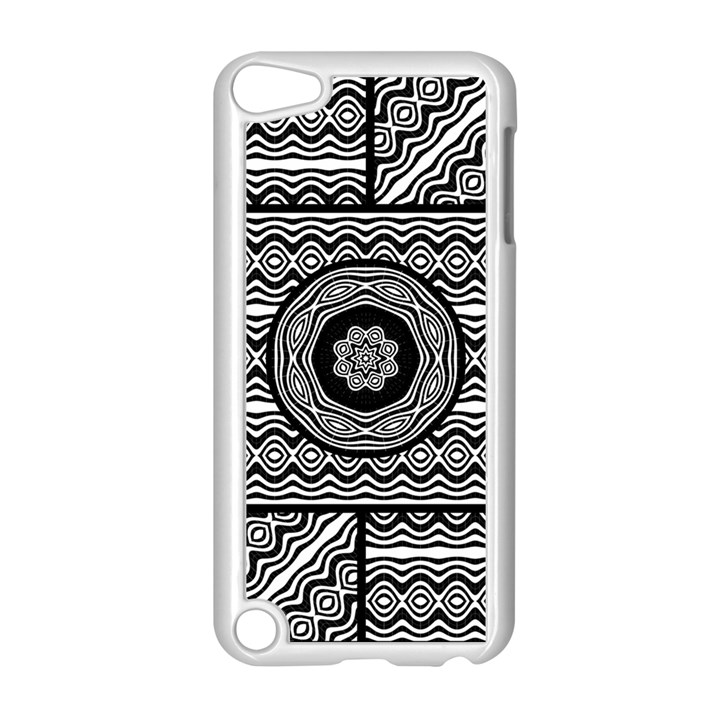 Wavy Panels Apple iPod Touch 5 Case (White)