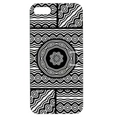 Wavy Panels Apple iPhone 5 Hardshell Case with Stand
