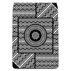 Wavy Panels Flap Covers (l)