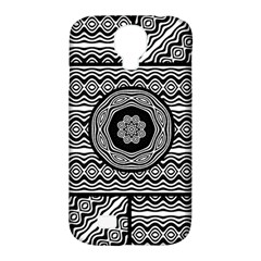 Wavy Panels Samsung Galaxy S4 Classic Hardshell Case (pc+silicone) by linceazul