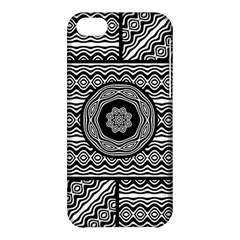Wavy Panels Apple Iphone 5c Hardshell Case by linceazul