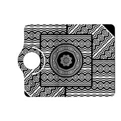 Wavy Panels Kindle Fire Hd (2013) Flip 360 Case by linceazul