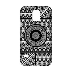 Wavy Panels Samsung Galaxy S5 Hardshell Case  by linceazul