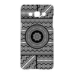 Wavy Panels Samsung Galaxy A5 Hardshell Case  by linceazul