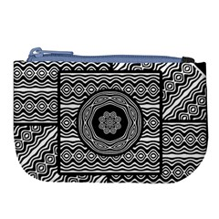 Wavy Panels Large Coin Purse
