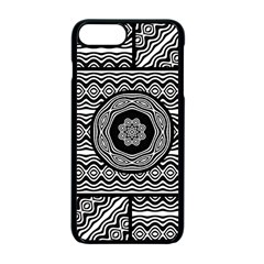 Wavy Panels Apple Iphone 7 Plus Seamless Case (black) by linceazul