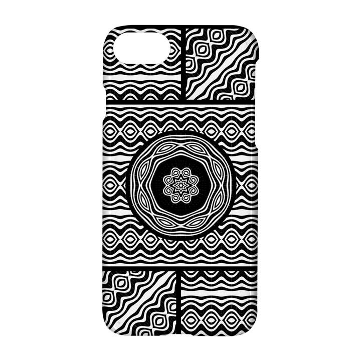 Wavy Panels Apple iPhone 8 Hardshell Case