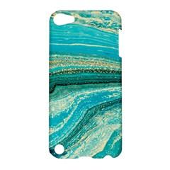 Mint,gold,marble,nature,stone,pattern,modern,chic,elegant,beautiful,trendy Apple iPod Touch 5 Hardshell Case