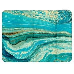 Mint,gold,marble,nature,stone,pattern,modern,chic,elegant,beautiful,trendy Samsung Galaxy Tab 7  P1000 Flip Case