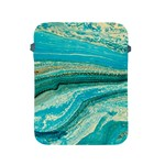 Mint,gold,marble,nature,stone,pattern,modern,chic,elegant,beautiful,trendy Apple iPad 2/3/4 Protective Soft Cases Front