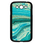 Mint,gold,marble,nature,stone,pattern,modern,chic,elegant,beautiful,trendy Samsung Galaxy Grand DUOS I9082 Case (Black) Front