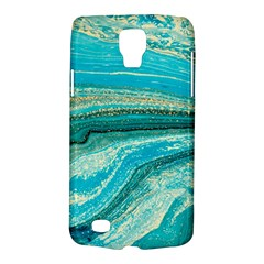 Mint,gold,marble,nature,stone,pattern,modern,chic,elegant,beautiful,trendy Galaxy S4 Active by 8fugoso