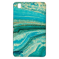 Mint,gold,marble,nature,stone,pattern,modern,chic,elegant,beautiful,trendy Samsung Galaxy Tab Pro 8 4 Hardshell Case