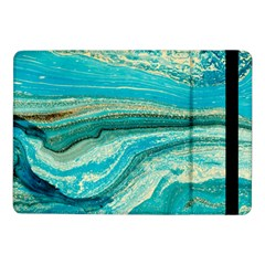 Mint,gold,marble,nature,stone,pattern,modern,chic,elegant,beautiful,trendy Samsung Galaxy Tab Pro 10 1  Flip Case
