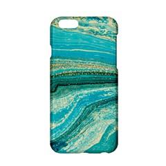 Mint,gold,marble,nature,stone,pattern,modern,chic,elegant,beautiful,trendy Apple Iphone 6/6s Hardshell Case