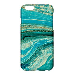 Mint,gold,marble,nature,stone,pattern,modern,chic,elegant,beautiful,trendy Apple Iphone 6 Plus/6s Plus Hardshell Case