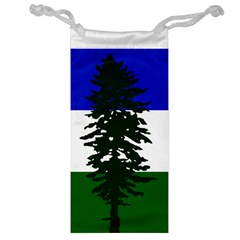 Flag Of Cascadia Jewelry Bag by abbeyz71
