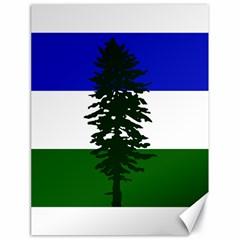 Flag Of Cascadia Canvas 18  X 24