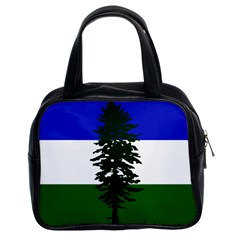 Flag Of Cascadia Classic Handbags (2 Sides) by abbeyz71