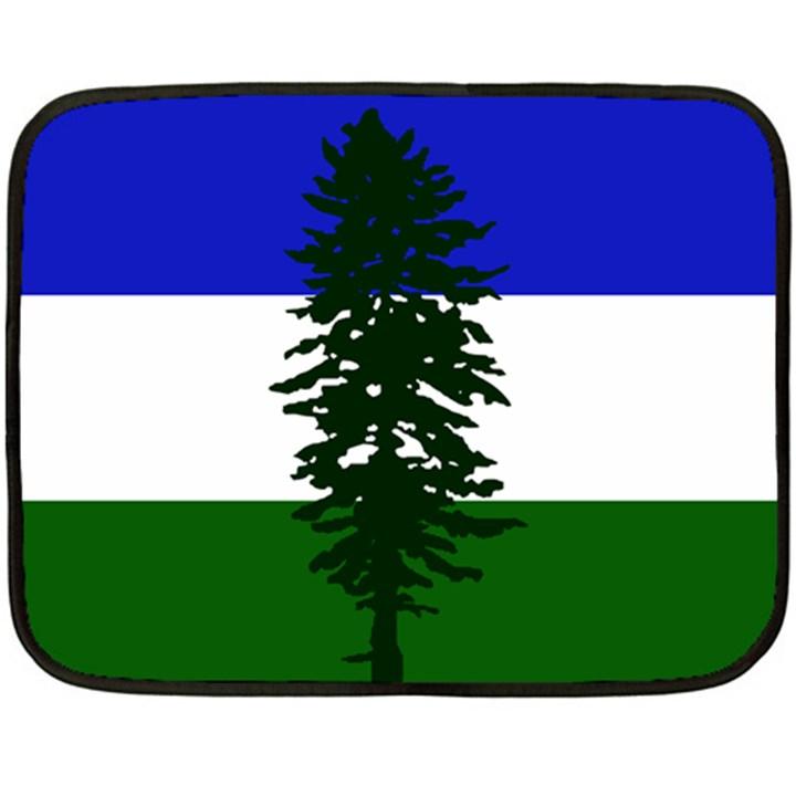 Flag of Cascadia Fleece Blanket (Mini)