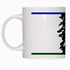 Flag Of Cascadia White Mugs by abbeyz71