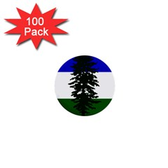 Flag Of Cascadia 1  Mini Buttons (100 Pack)  by abbeyz71