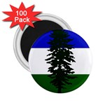 Flag of Cascadia 2.25  Magnets (100 pack)  Front