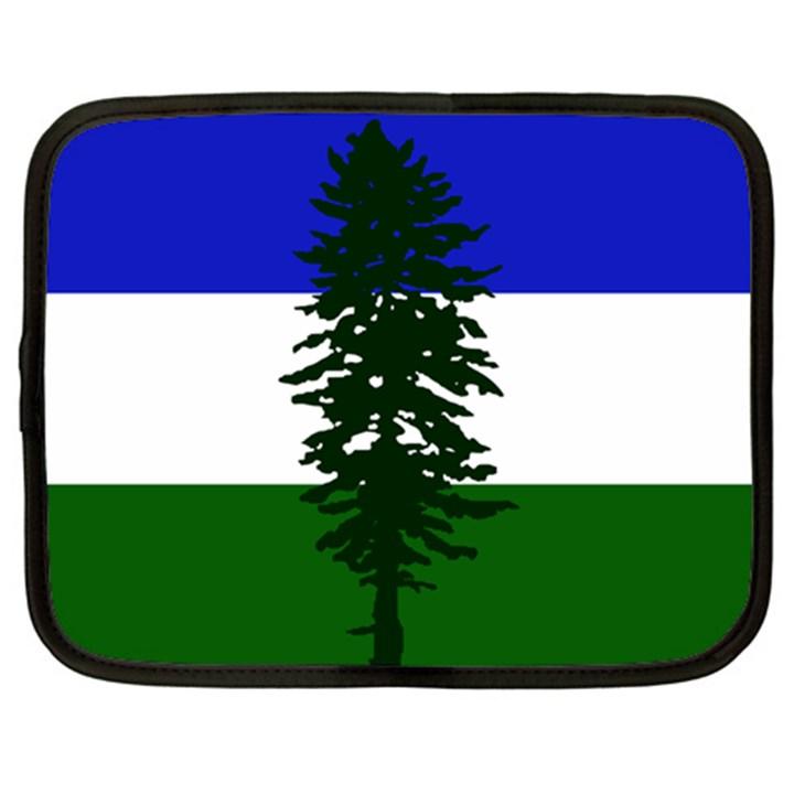 Flag of Cascadia Netbook Case (XXL)