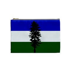 Flag Of Cascadia Cosmetic Bag (medium)