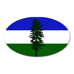 Flag Of Cascadia Oval Magnet by abbeyz71