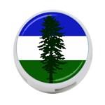 Flag of Cascadia 4-Port USB Hub (One Side) Front