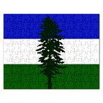 Flag of Cascadia Rectangular Jigsaw Puzzl Front