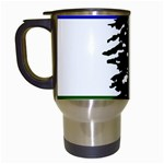 Flag of Cascadia Travel Mugs (White) Left