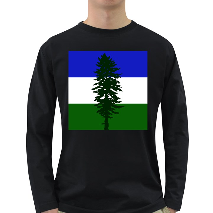 Flag of Cascadia Long Sleeve Dark T-Shirts