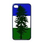 Flag of Cascadia Apple iPhone 4 Case (Black) Front
