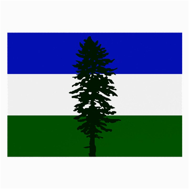Flag of Cascadia Large Glasses Cloth