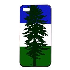 Flag Of Cascadia Apple Iphone 4/4s Seamless Case (black) by abbeyz71