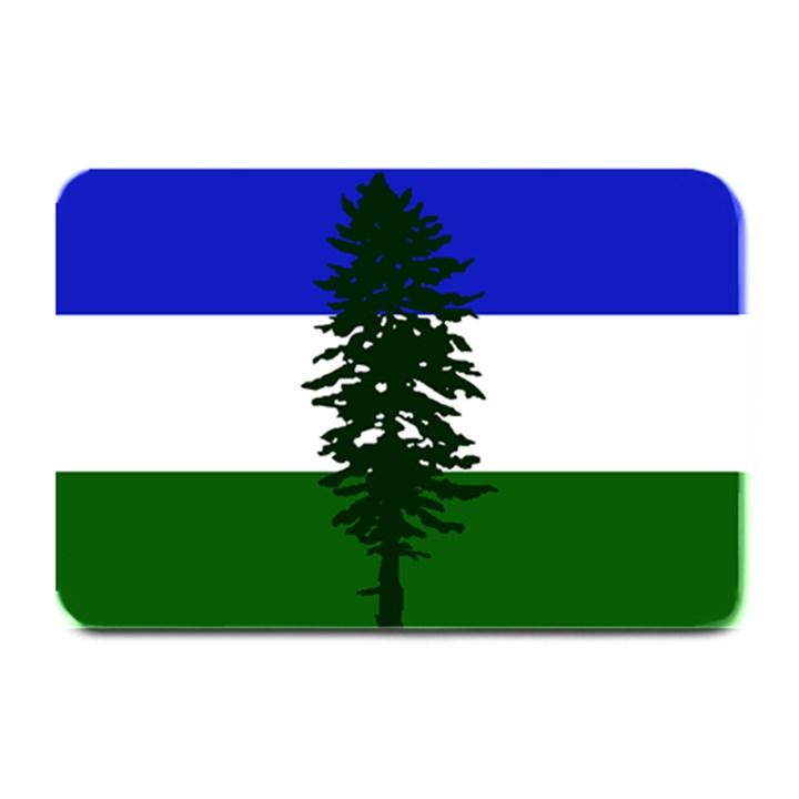 Flag of Cascadia Plate Mats