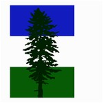 Flag of Cascadia Small Garden Flag (Two Sides) Back