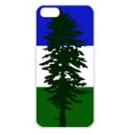 Flag of Cascadia Apple iPhone 5 Seamless Case (White) Front