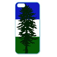 Flag Of Cascadia Apple Seamless Iphone 5 Case (color) by abbeyz71