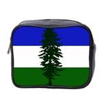 Flag of Cascadia Mini Toiletries Bag 2-Side Front