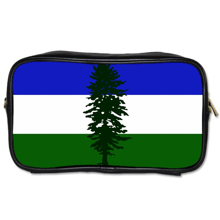 Flag of Cascadia Toiletries Bags