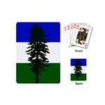 Flag of Cascadia Playing Cards (Mini)  Back