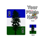 Flag of Cascadia Playing Cards 54 (Mini)  Front - ClubQ