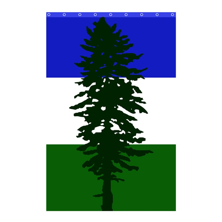 Flag of Cascadia Shower Curtain 48  x 72  (Small)